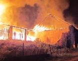 Brand Nebengebäude Maria Rain