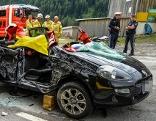 Drei Verletzte bei Verkehrsunfall in Trins