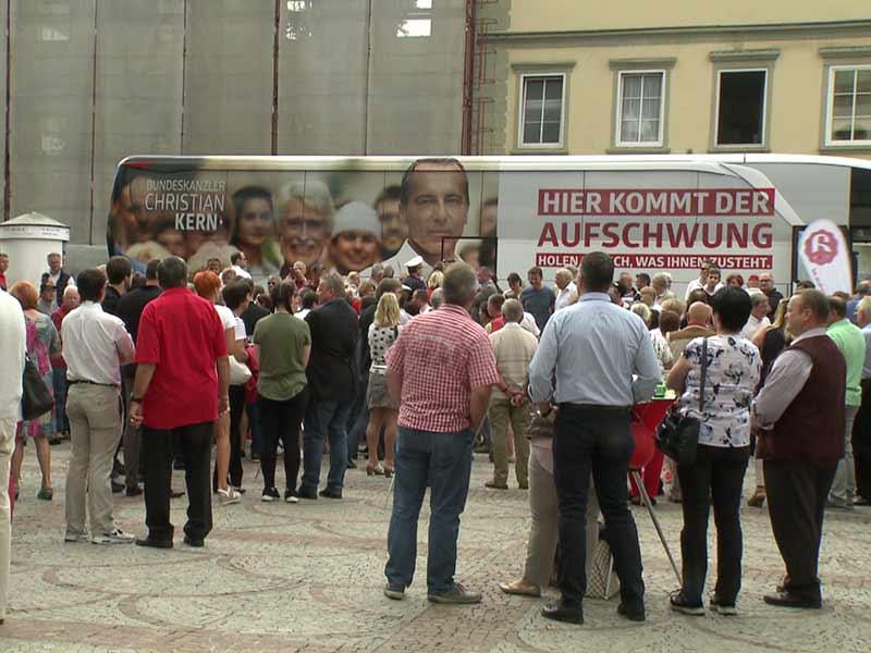 Kern Wahlkampf SPÖ Toustart in Kärnten