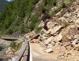 Bergsturz Felssturz bei Hüttau und Pfarrwerfen Katschbergstraße