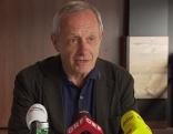 Peter Pilz Pressekonferenz in Salzburg