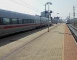 Bahnsteig Andorf