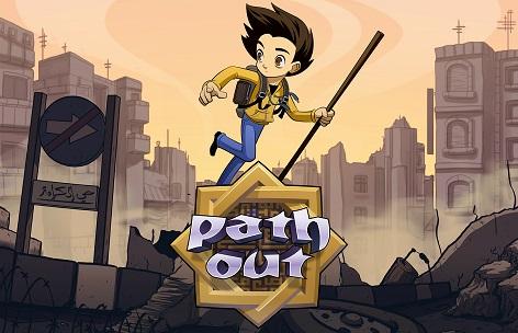 "Computerspiel ""Path Out"""