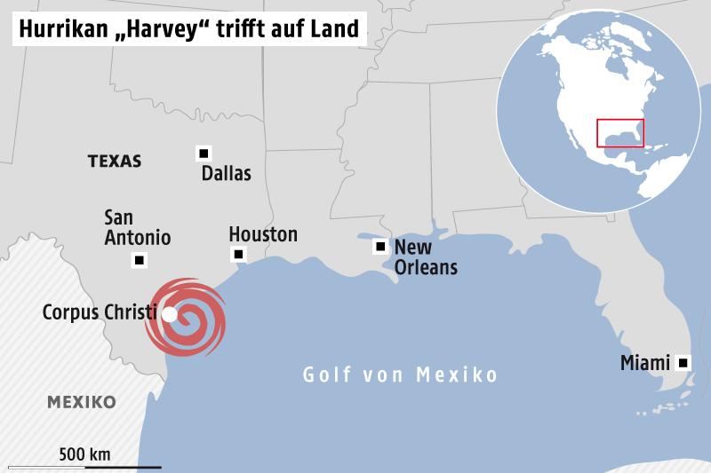 Evakuierung nach Dammbruch - Trump reist nach Texas