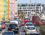 Autoverkehr in Wien