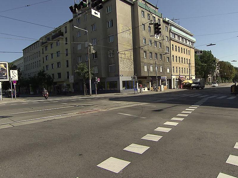 Tödlicher Unfall in Wien-Leopoldstadt: Biker kollidiert mit Straßenbahn