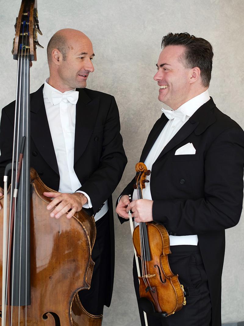 Daniel Froschauer (r.) und Michael Bladerer
