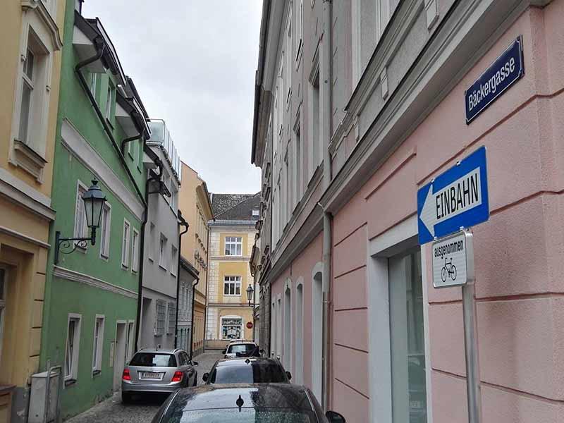 Bäckergasse Klagenfurt