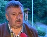 Der Bürgermeister von Dimbach Josef Wiesinger