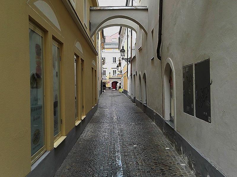 Gassen Straßen Klagenfurt