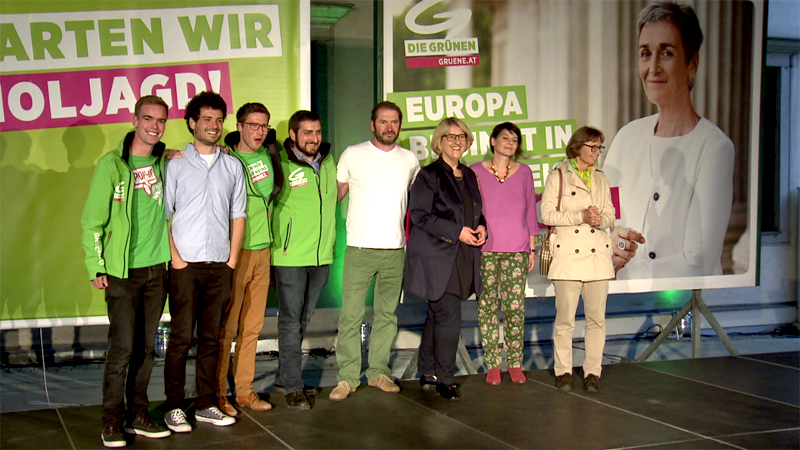 Grüne Wahlkampfauftakt