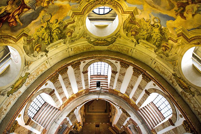 Innenansicht der Wiener Karlskirche