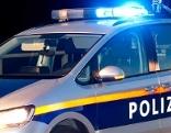 Polizeiauto Nacht