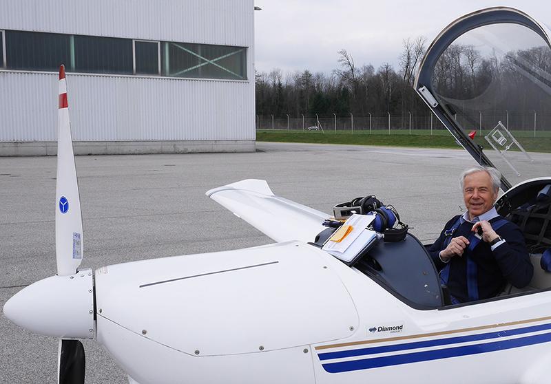 Reinhard Prosser ORF-Toningenieur Fluglehrer