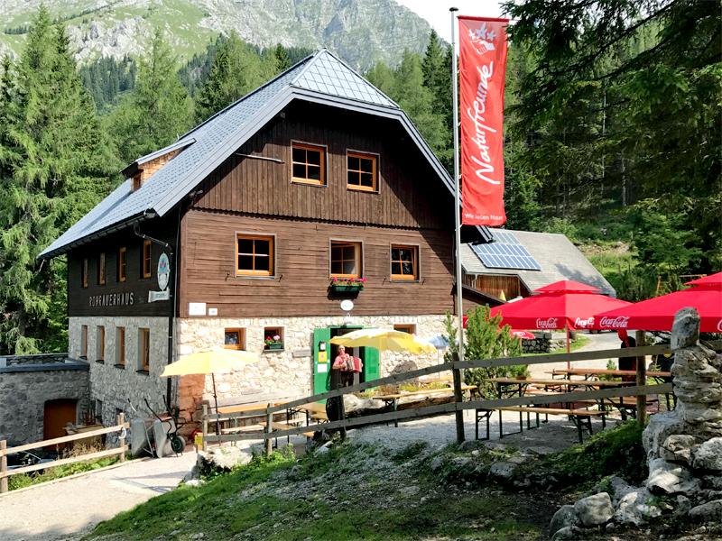 Lieblingshütte Rohrauer Haus