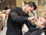 Rasur Barber Barbier Friseur