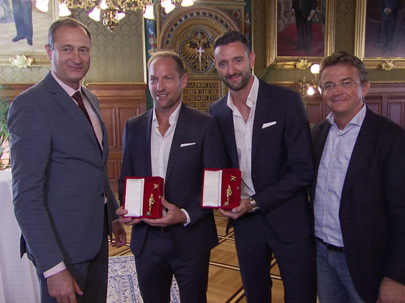 Andreas Mailath-Pokorny, Clemens Doppler, Alexander Horst, Hannes Jagerhofer