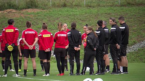 WM, Frauen Fußball Nationalteam, Bad Tatzmannsdorf