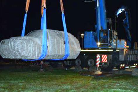 GTI Granit Abtransport Nachtreffen