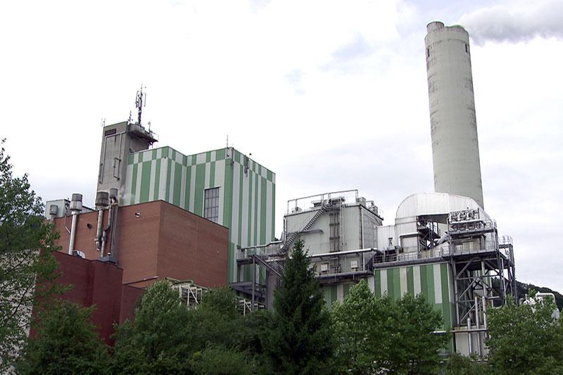 Zellstofffabrik (ehemalige Papierfabrik) in Hallein