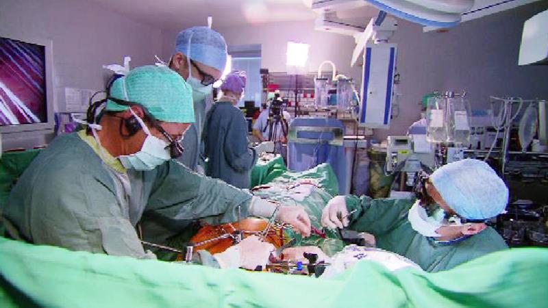 Minimal invasive Herz-OP