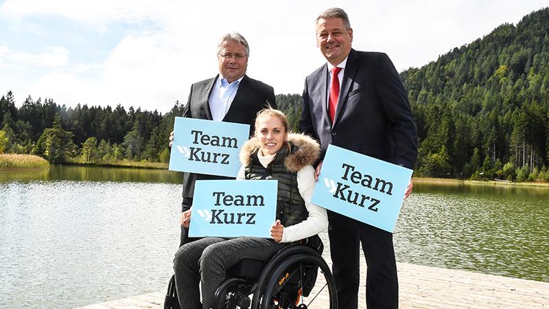 Franz Hörl, Kira Grünberg, Andrä Rupprechter
