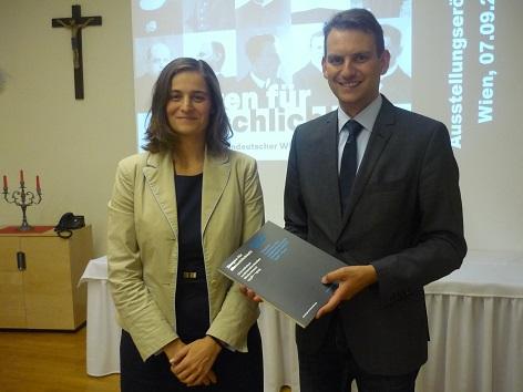 Marie Smolkova und Matthias Dörr Ackermann Gemeide