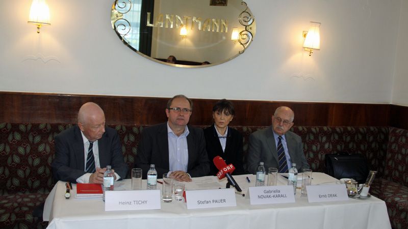 PK Bečanska djelatna zajednica ARGE izbori nacionalno vijeće Heinz Tichy Stefan Pauer Gabriela Novak-Karall Ernö Deak