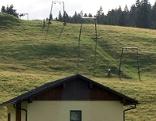 Schlepplift auf der Postalm bei Strobl (Flachgau)