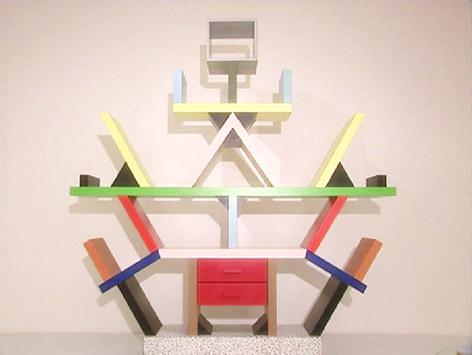 """Bücherregal """"Carlton"""" von Ettore Sottsass"""