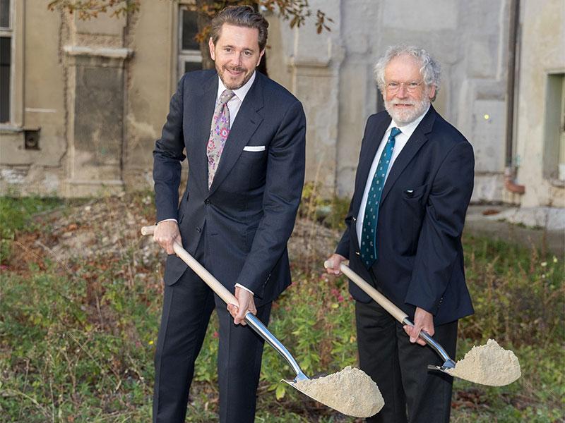 Harald Mahrer und Anton Zeilinger