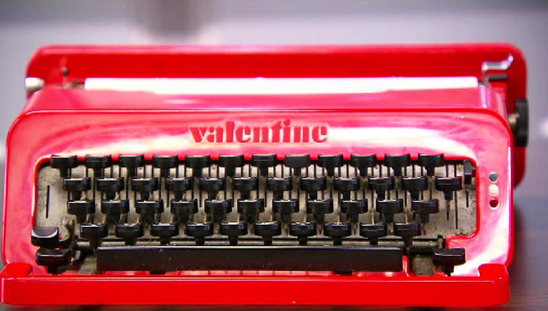 Valentine Schreibmaschine