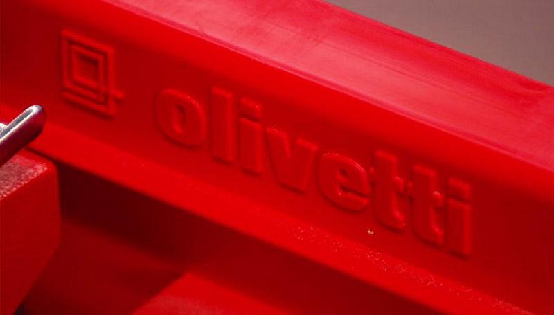 """Schreibmaschine """"Valentine"""" von Olivetti"""