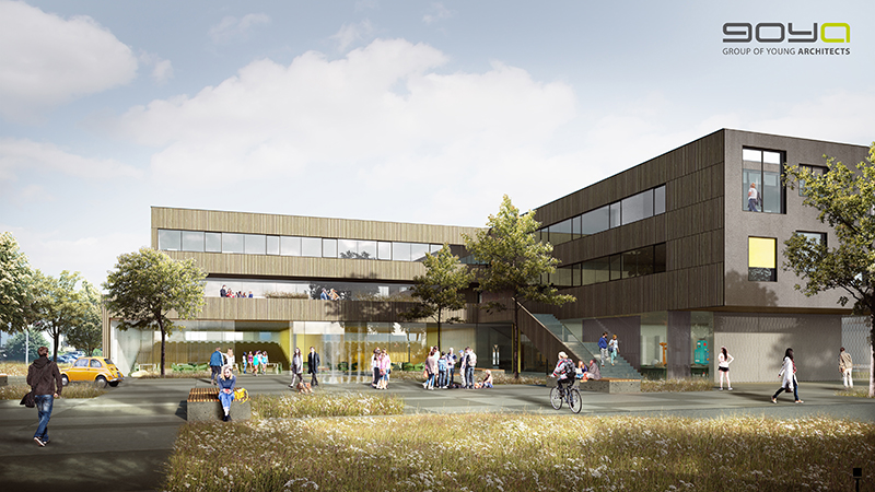 Campus Wieselburg Visualisierung