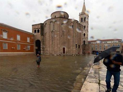 Zadar Überschwemmung