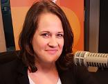 Christiane Brunner im Radio-Burgenland-Studio