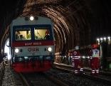 Übung Zugsunglück Südbahn Pettenbachtunel