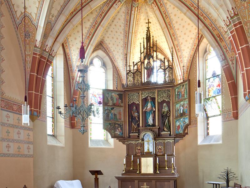 Innenansicht Bründlkapelle