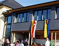 Čajna pregradnja šole odprtje Wohinz