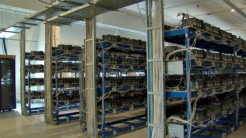 Grosste Bitcoin Farm Mitteleuropas In OO