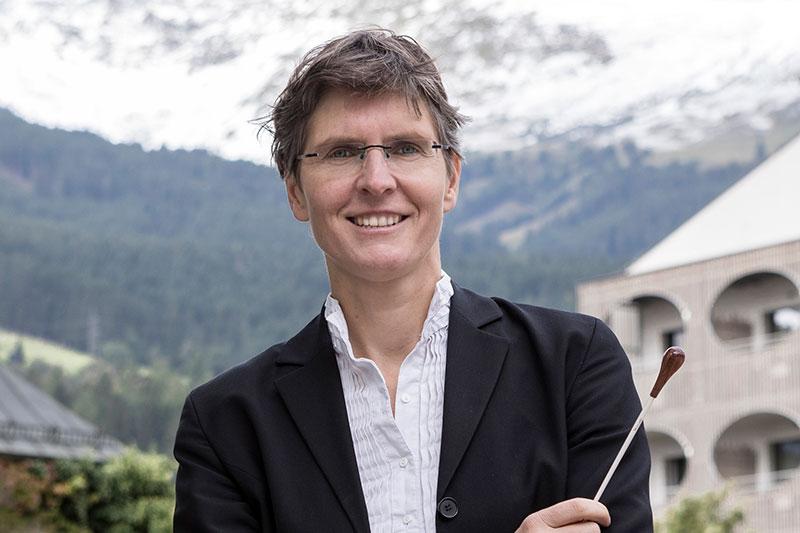 Dirigentin Elisabeth Fuchs