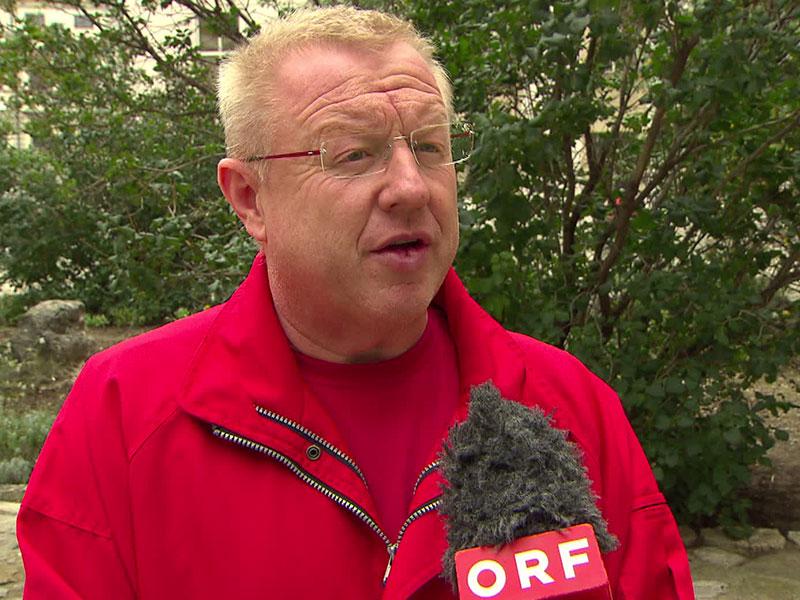 Polizeigewerkschafter bei ORF-Interview