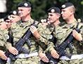 Hrvaška hrvatska vojska vojaki
