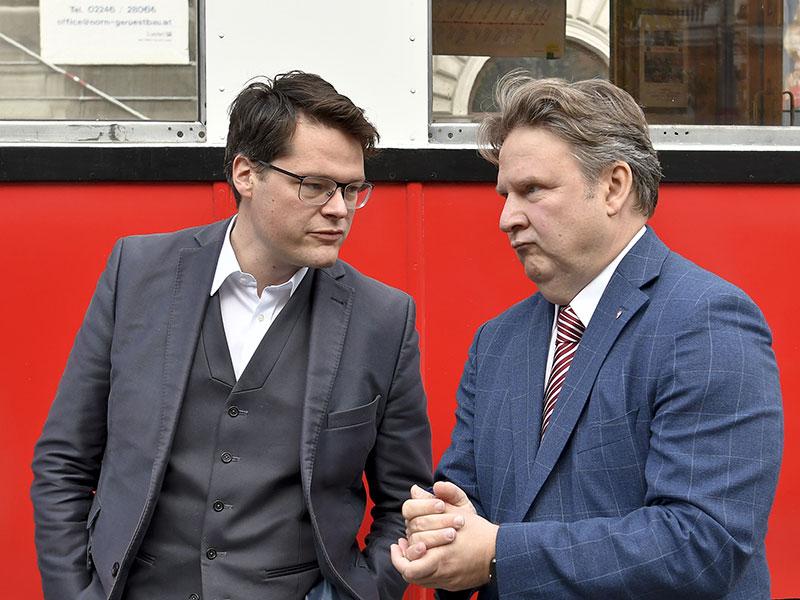 Jürgen Czernohorszky und Michael Ludwig