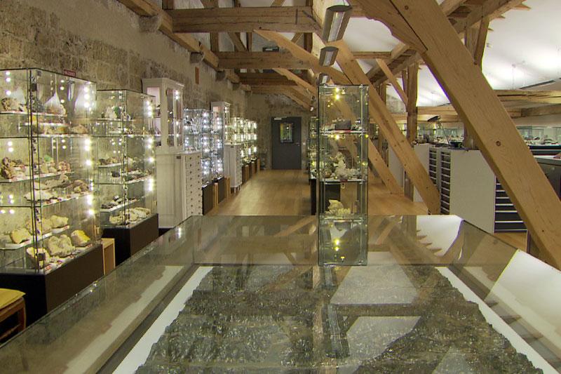 Mineraliensammlung der Erzabtei St. Peter