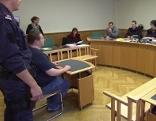 Angeklagter vor Gericht