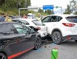 Unfall auf Brennerautobahn
