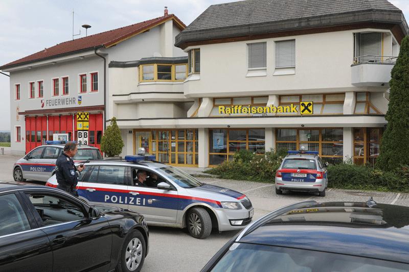 Kapuzenmann überfiel Bank im Kremstal