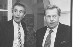 Jan Triska a Vaclav Havel