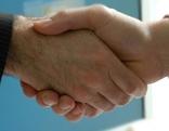 Handschlag Handshake Handgeben